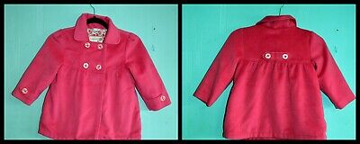 coat MARKS & SPENCER autograph 5-6 year girl pink China 95%Polyester 5%Viscose