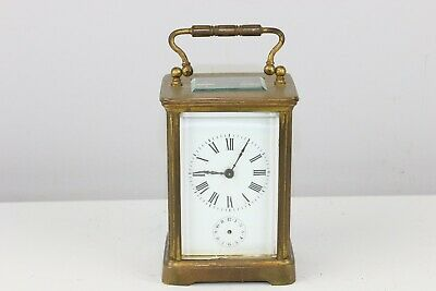 Antique French Bawo & Dotter ?? Brass Striking Carriage Clock - Excellent