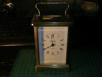 Bayard 8 day French carriage clock