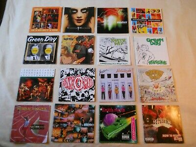 16 CD Covers/Artwork Only lot, Good condition, older albums. Great Buy!