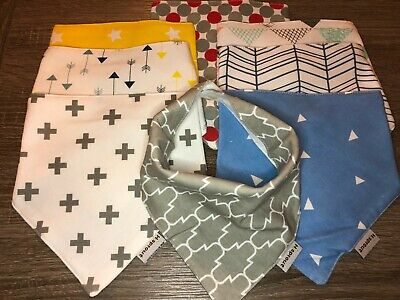 Baby Bandana Bibs Multi Colors 8 pack