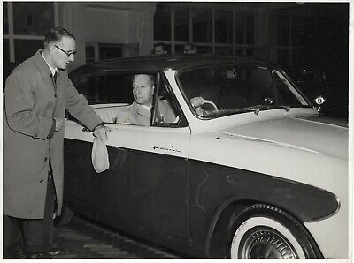 HUMBER COVENTRY Vintage Car PRESS PHOTO