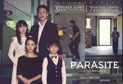 PARASITE FYC Promotional Booklet Awards 2020