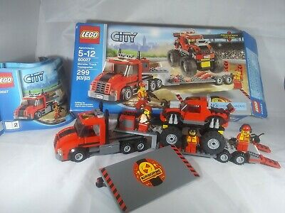 Lego City Monster Truck Set Complete 60027