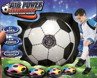 Indoor LED Hover Ball Air Power Floating Soccer Ball Light Up Football Disc Toy