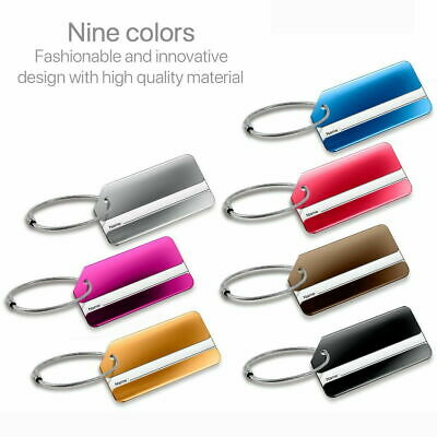 Aluminium Metal Tags For Bag Travel Luggage Baggage Suitcase Carry on Sa Seller