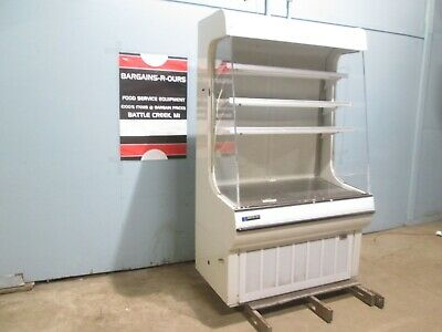 """Master-Bilt"" H.d. Commercial Open Lighted Refrigerated Vertical Display Case"