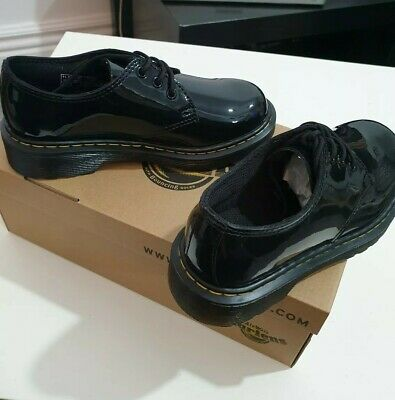 Dr. MARTENS (Everley)Kids/girls Patent Leather Shoes - UK SIZE 11.5 Kids BNWB!