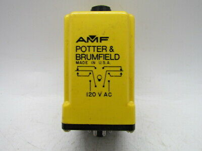 Potter/&Brumfield CKB-38-79010 120 VAC Time Delay Relay