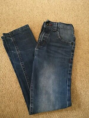 Boys Next Skinny Jeans Age 9 Years - Blue