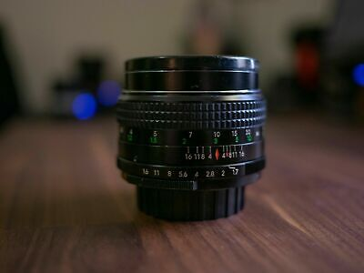 Chinon 55mm f1.7 Lens for Pentax M42 Screw Mount