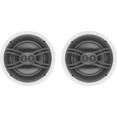 """Yamaha In-Ceiling Speaker System 3-Way 6.5/"""" Pair NS-IW280CWH 3DAYSHIP"""