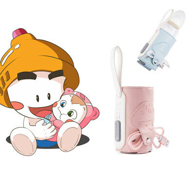 Bottle Heater USB Constant Temperature Baby Portable Isolation Cover PU