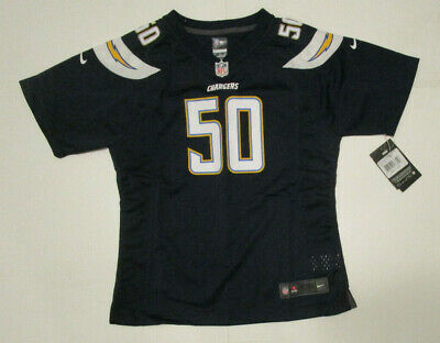 Girls Nike Los Angeles Chargers Jersey, New Navy Blue Te'o NFL Official Sz XL-16