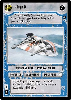 Star Wars CCG Reflections I VRF Very Rare Foil Admiral Ozzel