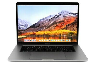 Apple MacBook Pro 15-inch Touch Bar 2.6GHz Core i7 16GB RAM 512GB SSD Grey 450