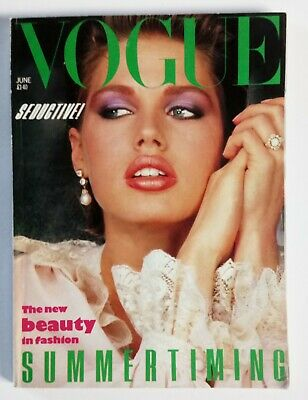 Vogue Magazine June 19836 6 Page New Designs By Lagerfeld For Chanel. Good Cond