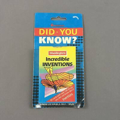 Waddingtons Did You Know? - Incredible Inventions