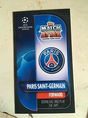 Match Attax 2019/20 UEFA Champions Oversized Large Card XL1 Mbappe Paris