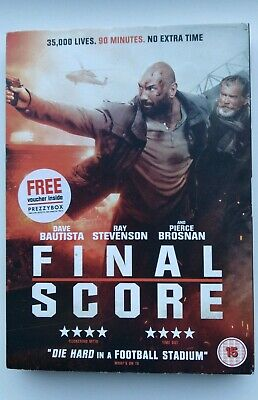 Final Score Dvd Dave Bautista, Pierce Brosnan