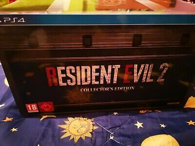 Resident Evil 2 Remake Collector Edition Ps4