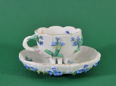 Antique Meissen Cup and plate, 18th century