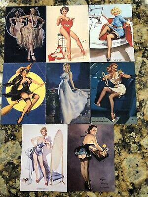 Pinup Girl Trading Card Lot Gil Elvgren 21st Century Archives Comic Images