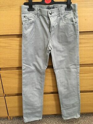 Boys Casual Grey Chinos Regular Fit 9-10 H&M