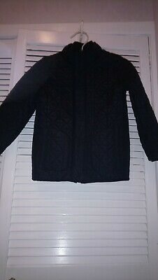 Boys HOWICK quilted navy blue jacket size 5-6years
