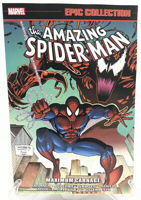 The Amazing Spider-Man Maximum Carnage Epic Collection Marvel Comics New TPB