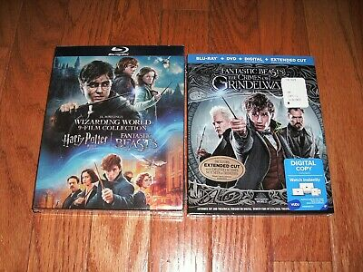 Brand New. Complete Harry Potter film set on Blu-ray. 1-8 + Fantastic Beasts 1-2