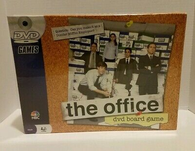 New The Office DVD Board Game 2008 (FACTORY SEALED)