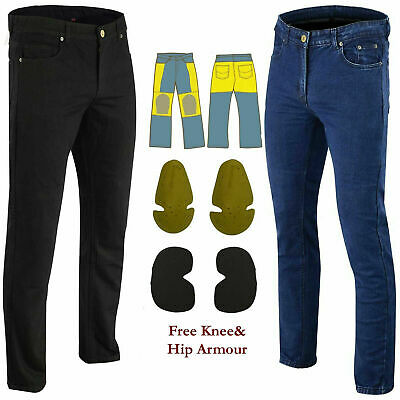 Men Motorcycle Jeans Reinforced Jeans Made With DuPont™ Kevlar® Motorbike Pants