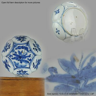 Antique Chinese Porcelain Plate 17th century Ming Dynasty Wanli / Tianqi China