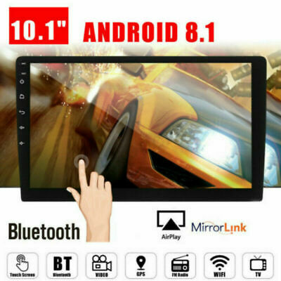 """10.1"""" Double 2 Din Car Stereo Radio Android 8.1 Quad Core WIFI GPS Navigation"""
