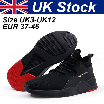 Men Women Safety Shoes Trainers Labor Steel Toe Cap Sports Hiking Shoes Sneakers