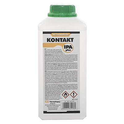 2 x 1 LITRE | IPA 99.9% PURE ALCOOL ISOPROPYLIQUE / ISOPROPANOL | 1L / 1000ML