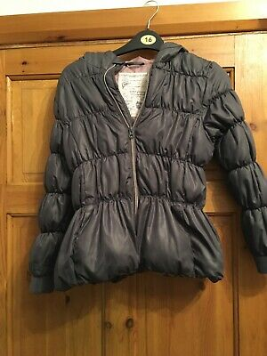 A Girls Puff Coat Age 9/10  By Free Spirit