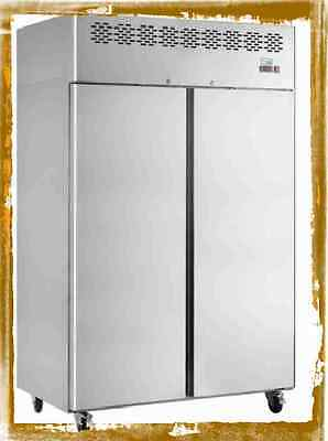 BIG CAF900 GRADED STAINLESS STEEL CATERING COMMERCIAL FREEZER @ £1082+Vat