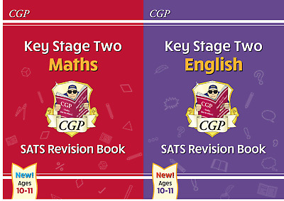 NEW KS2 SATS English & Maths Revision Set by CGP Books