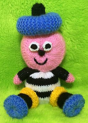 KNITTING PATTERN Teletubbies inspired chocolate orange cover or 15 cms toy