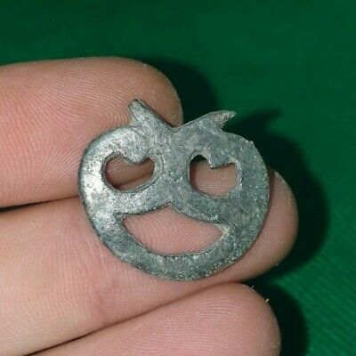 Ancient Celtic Druids Bronze Anthropomorphic Decoration / Pendant - 300/100 Bc