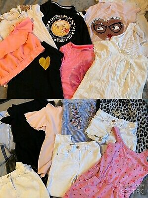 Girls Bundle Age 7-8 Next , River Island , Mixed Brands Clothes