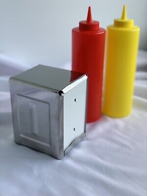 Napkin Dispensers. Stainless Steel. (Quantity Of 27)