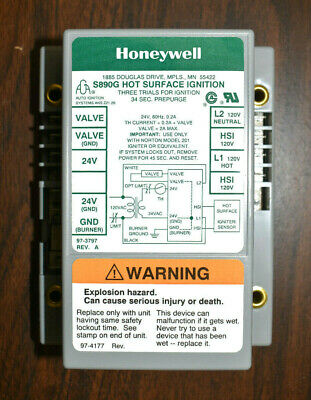 Honeywell S890G1011 Hot Surface Ignition Control Board