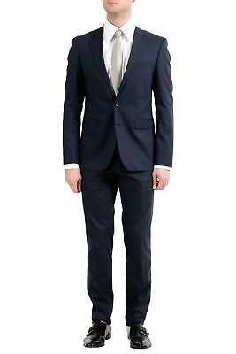 "Hugo Boss ""Ryan4/Win2"" Men's Navy Blue Stretch Two Button Suit"