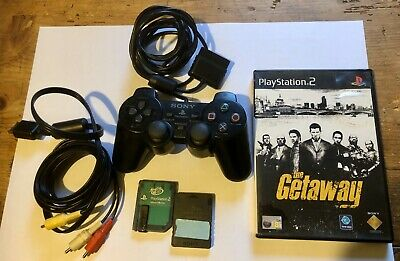 Official Sony playstation 2 controller Bundle, 2 x 8MB Memory Cards, Power lead