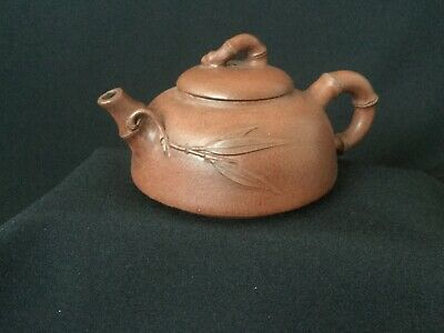 Beautiful Chinese Yixing Zishi Clay Teapot-Seal Marked on Base & in the Lid.