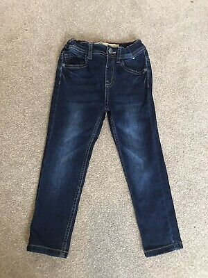 Boys Skinny Jeans Age 4-5 (with adjustable waist) Barely Worn