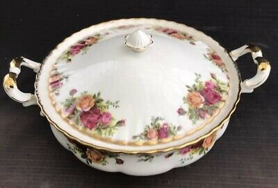 ROYAL ALBERT OLD COUNTRY ROSE LIDDED TUREEN First Quality